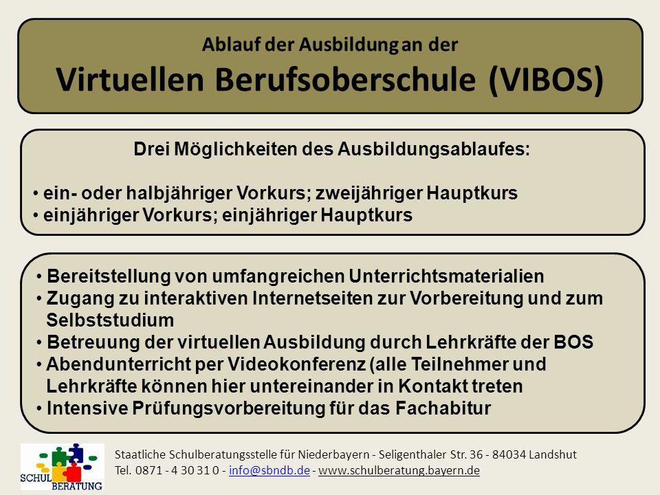 Virtuellen Berufsoberschule (VIBOS)