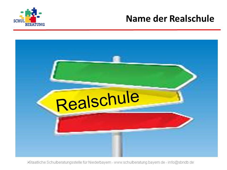Realschule Name der Realschule
