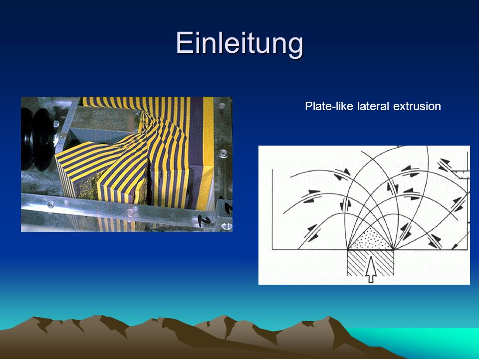 Einleitung Plate-like lateral extrusion