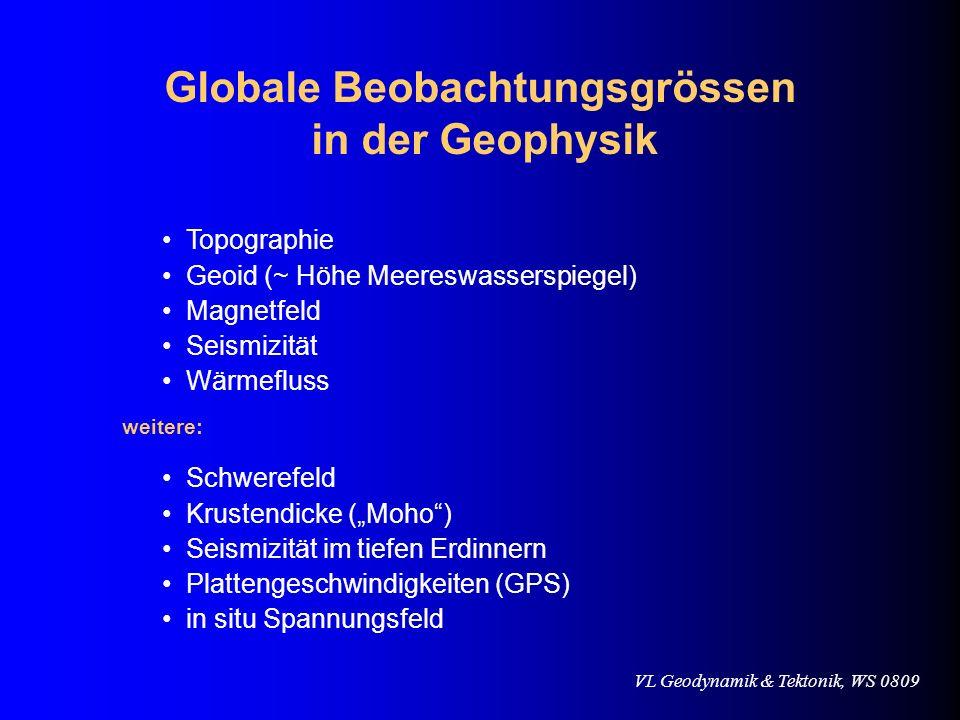 Globale Beobachtungsgrössen
