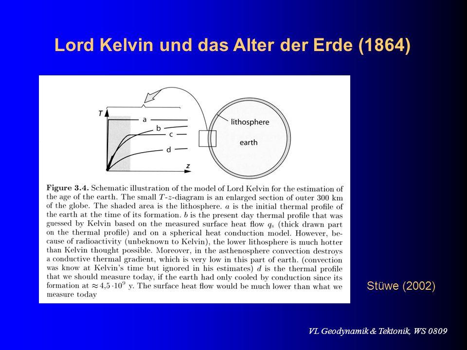 Lord Kelvin und das Alter der Erde (1864)