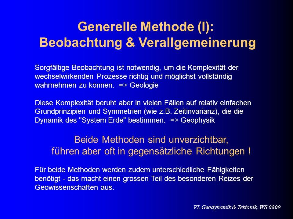 Generelle Methode (I): Beobachtung & Verallgemeinerung