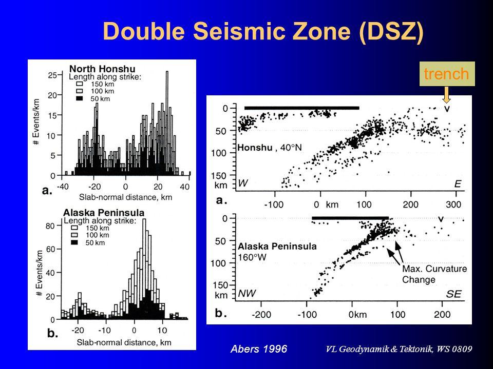 Double Seismic Zone (DSZ)
