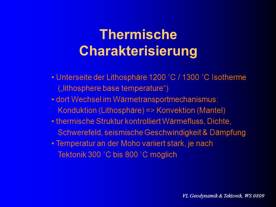 Thermische Charakterisierung