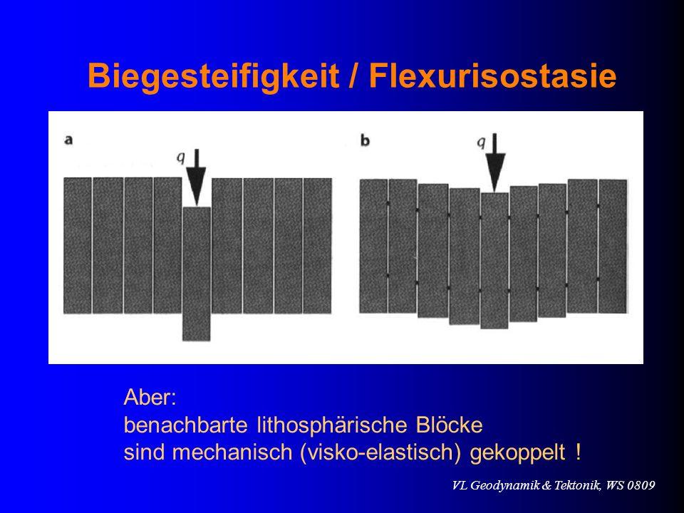 Biegesteifigkeit / Flexurisostasie