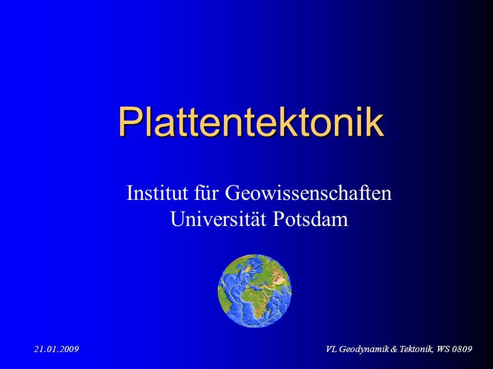 Institut für Geowissenschaften Universität Potsdam