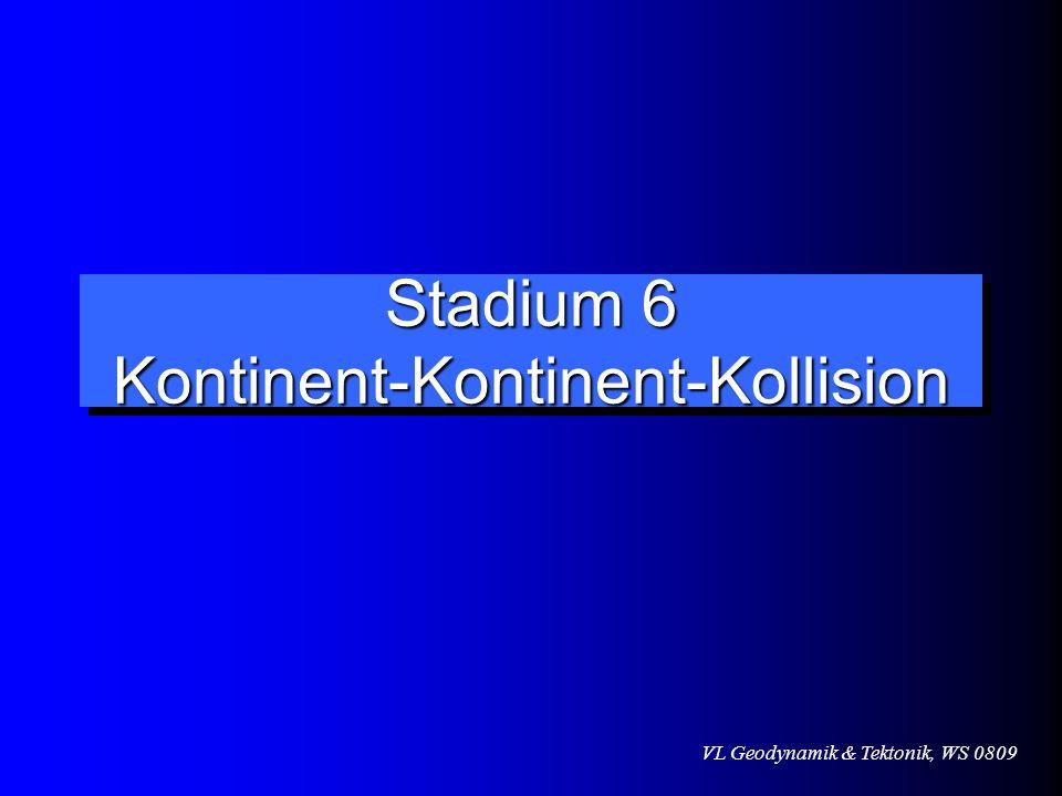 Stadium 6 Kontinent-Kontinent-Kollision