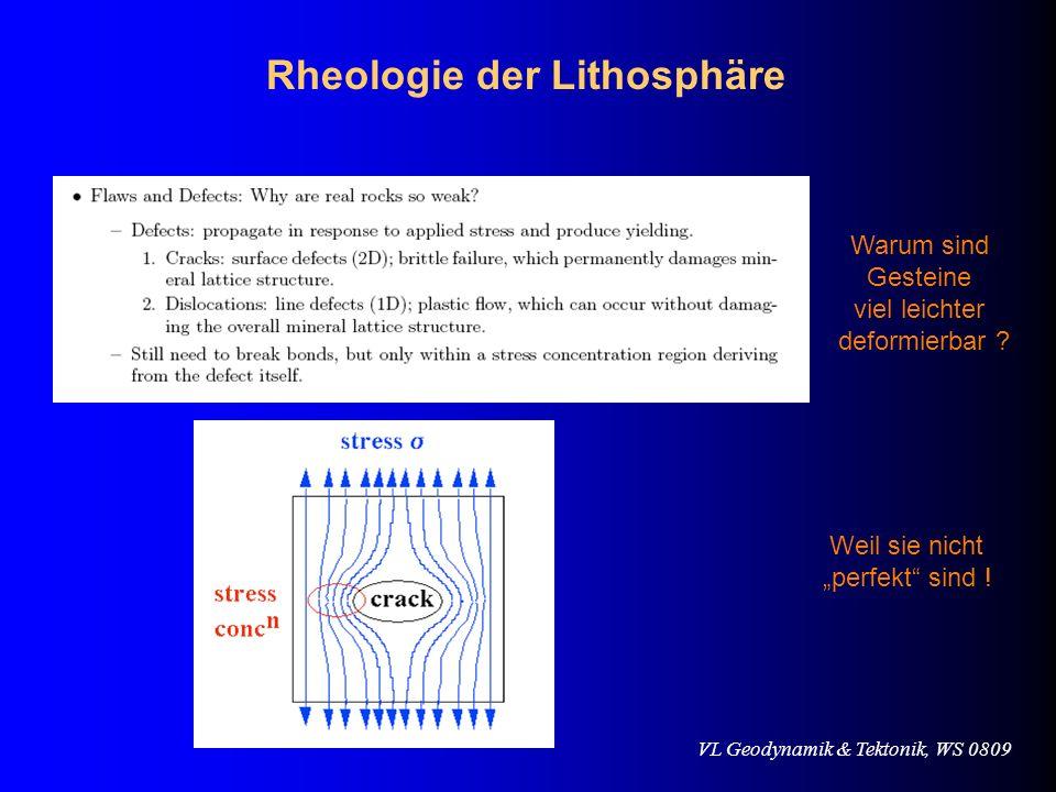 Rheologie der Lithosphäre