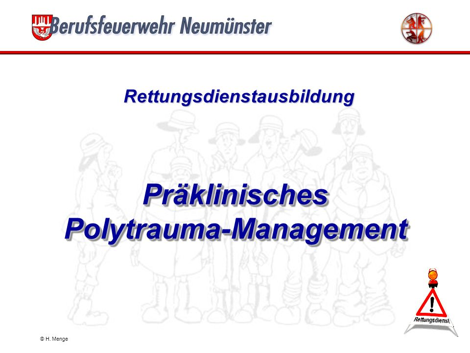 Präklinisches Polytrauma-Management