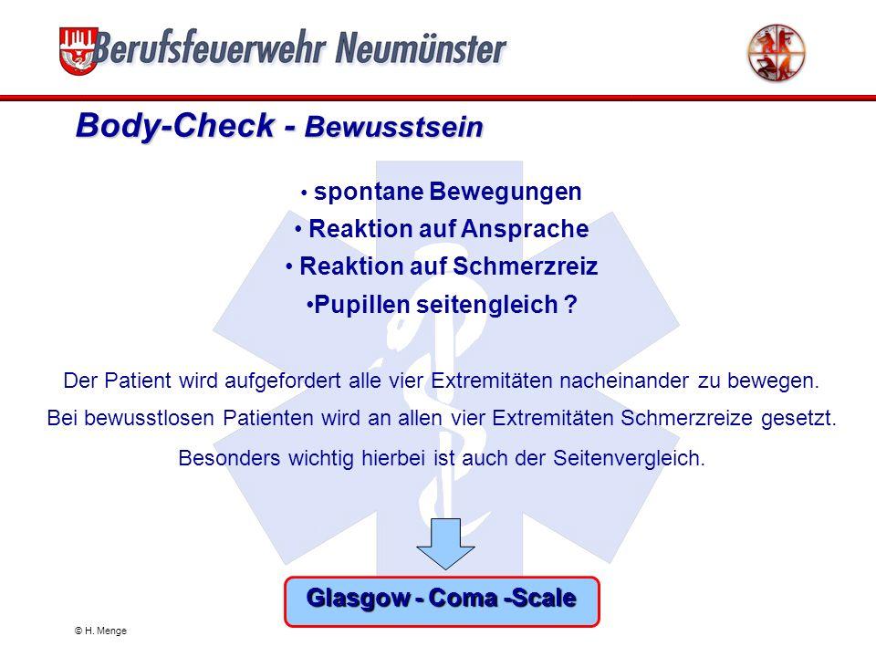 Body-Check - Bewusstsein