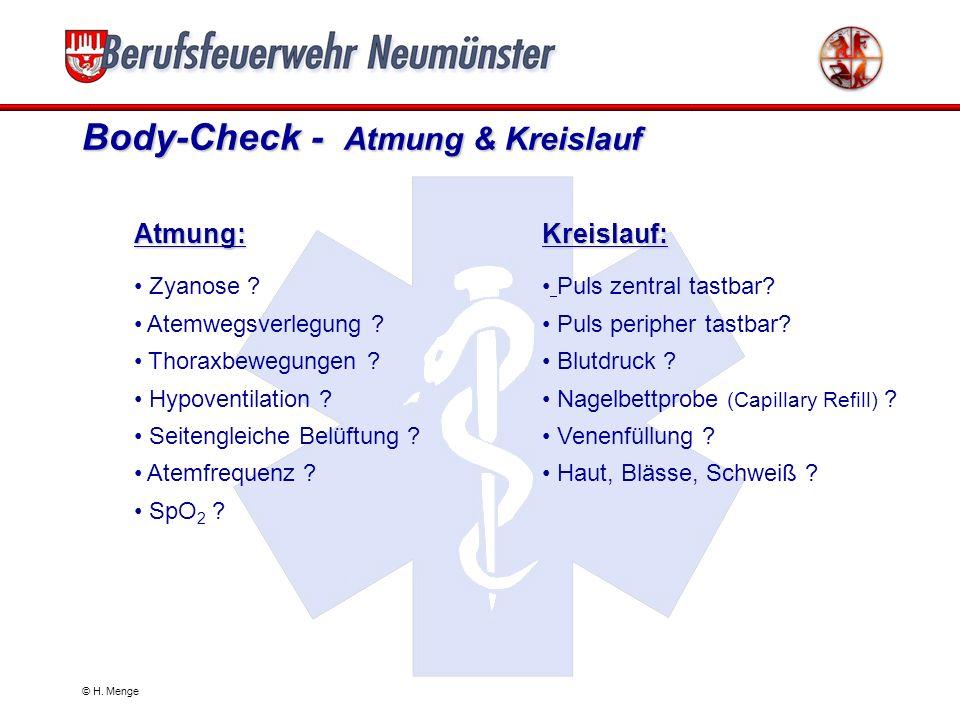Body-Check - Atmung & Kreislauf