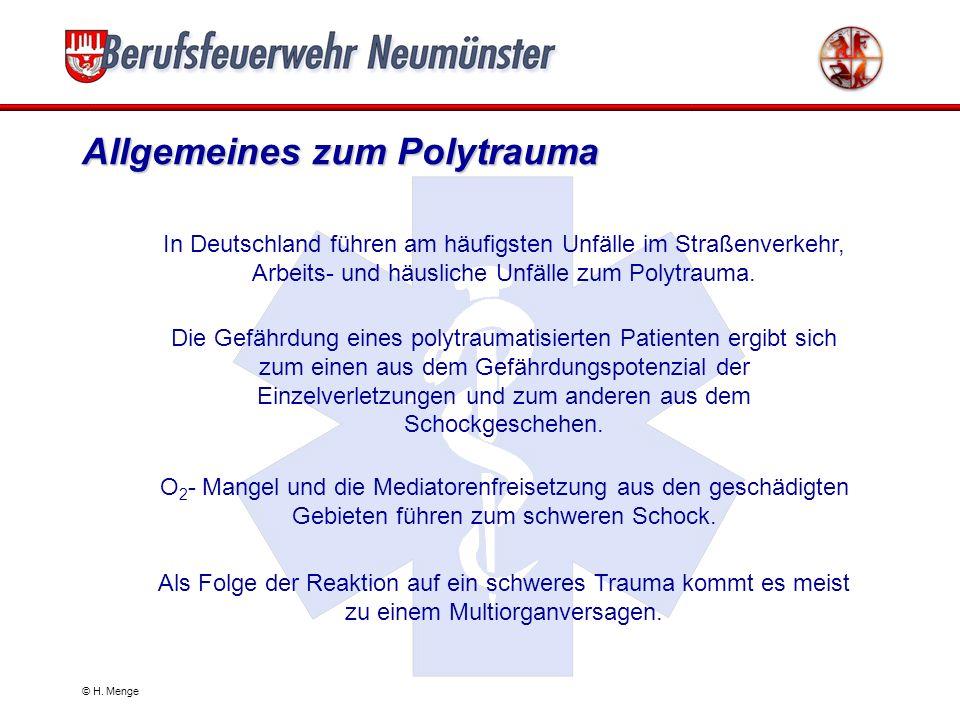 Allgemeines zum Polytrauma