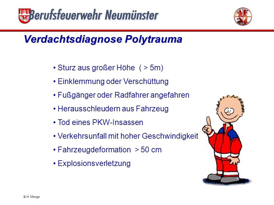 Verdachtsdiagnose Polytrauma