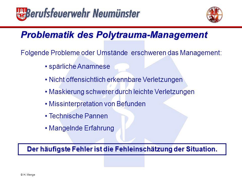 Problematik des Polytrauma-Management