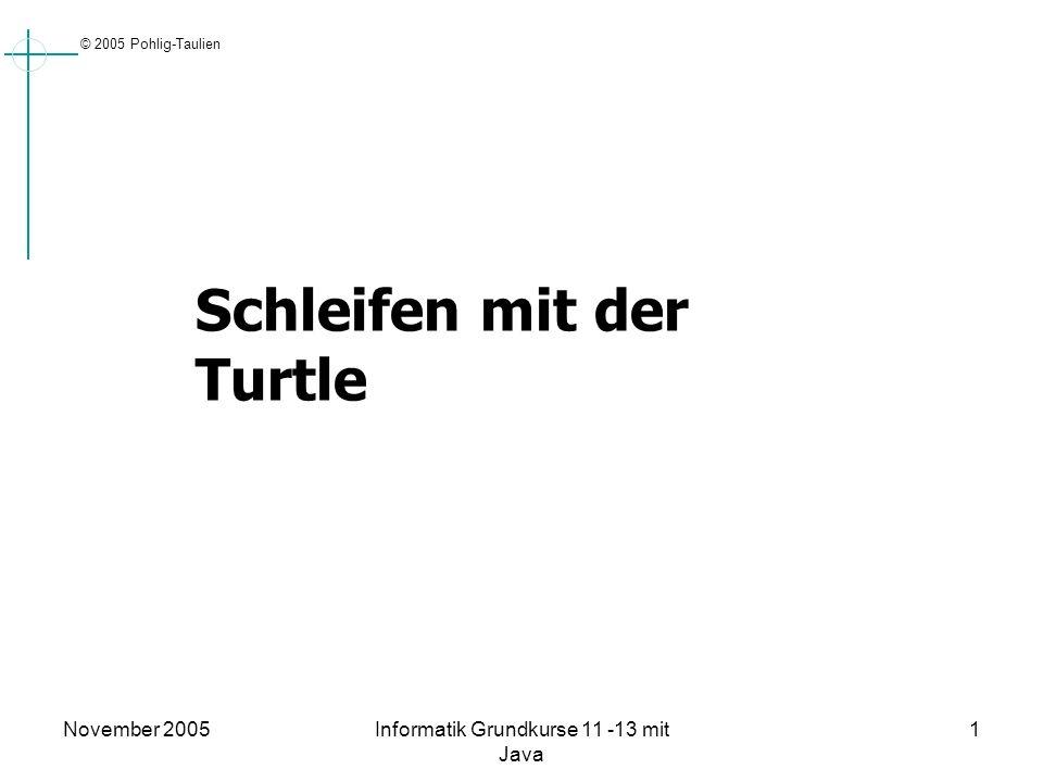 Informatik Grundkurse 11 -13 mit Java