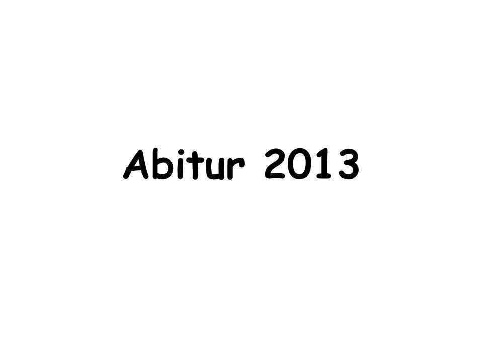 Abitur 2013 1