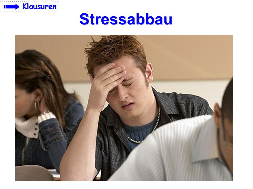 Stressabbau