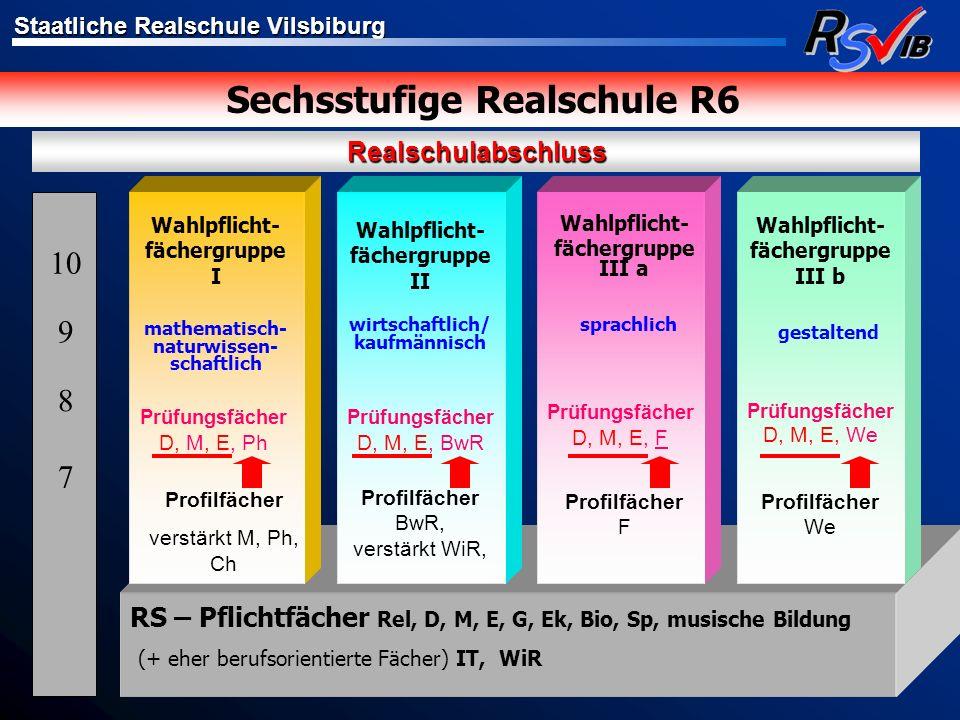 Sechsstufige Realschule R6