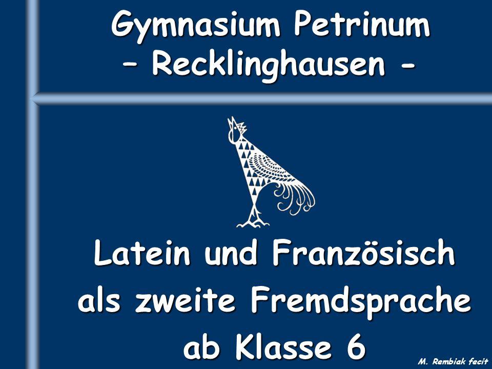 Gymnasium Petrinum – Recklinghausen -