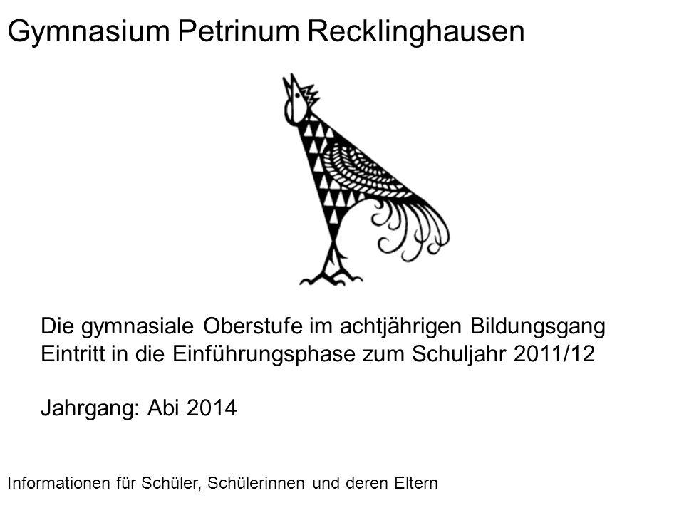 Gymnasium Petrinum Recklinghausen
