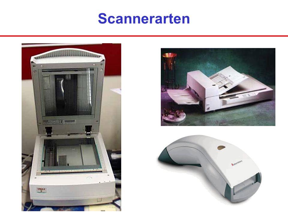 Scannerarten