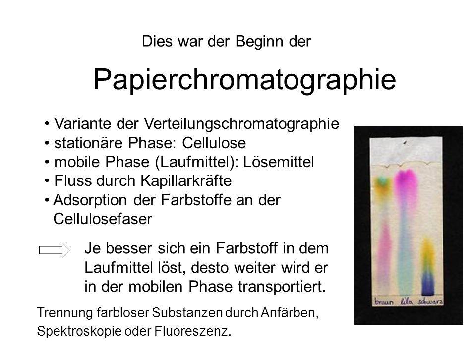 Papierchromatographie