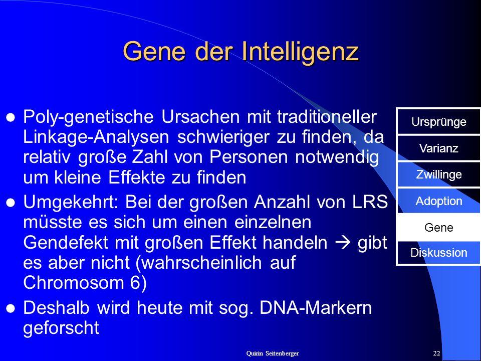 Gene der Intelligenz