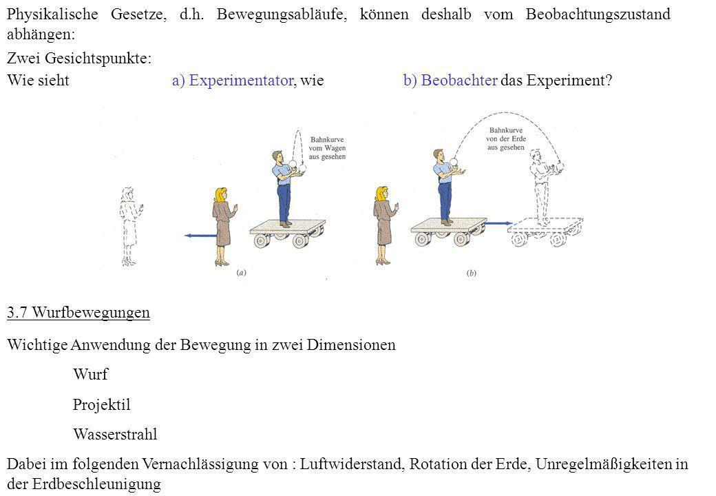 Physikalische Gesetze, d. h