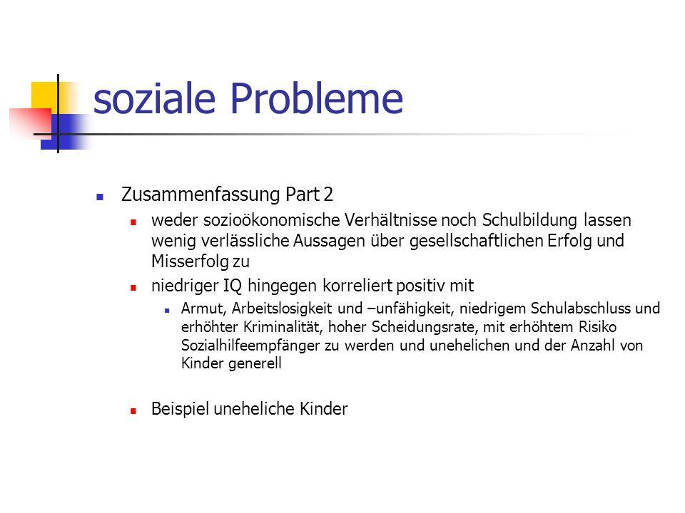 soziale Probleme Zusammenfassung Part 2