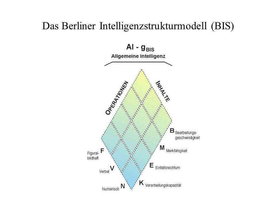 Das Berliner Intelligenzstrukturmodell (BIS)