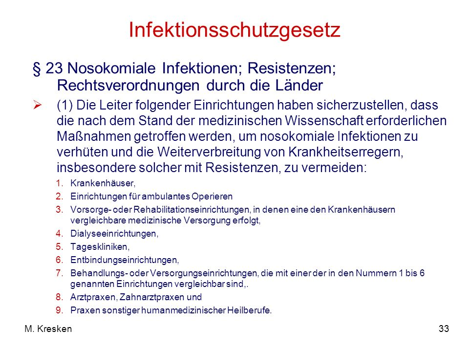 Infektionsschutzgesetz