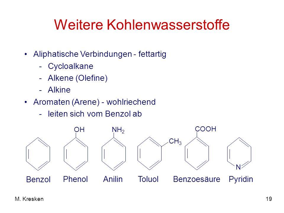Weitere Kohlenwasserstoffe