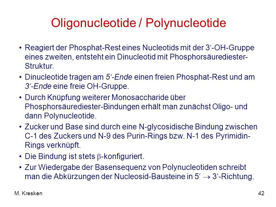 Oligonucleotide / Polynucleotide