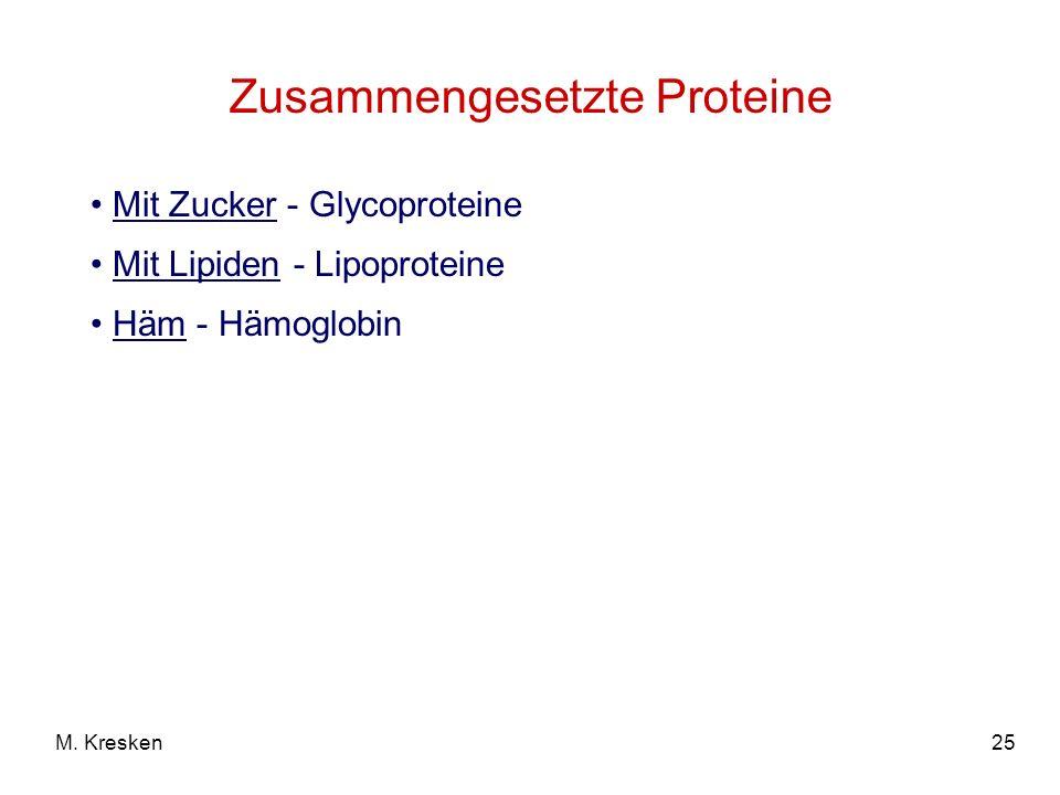 Zusammengesetzte Proteine