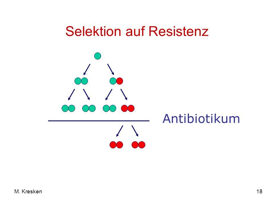 Selektion auf Resistenz
