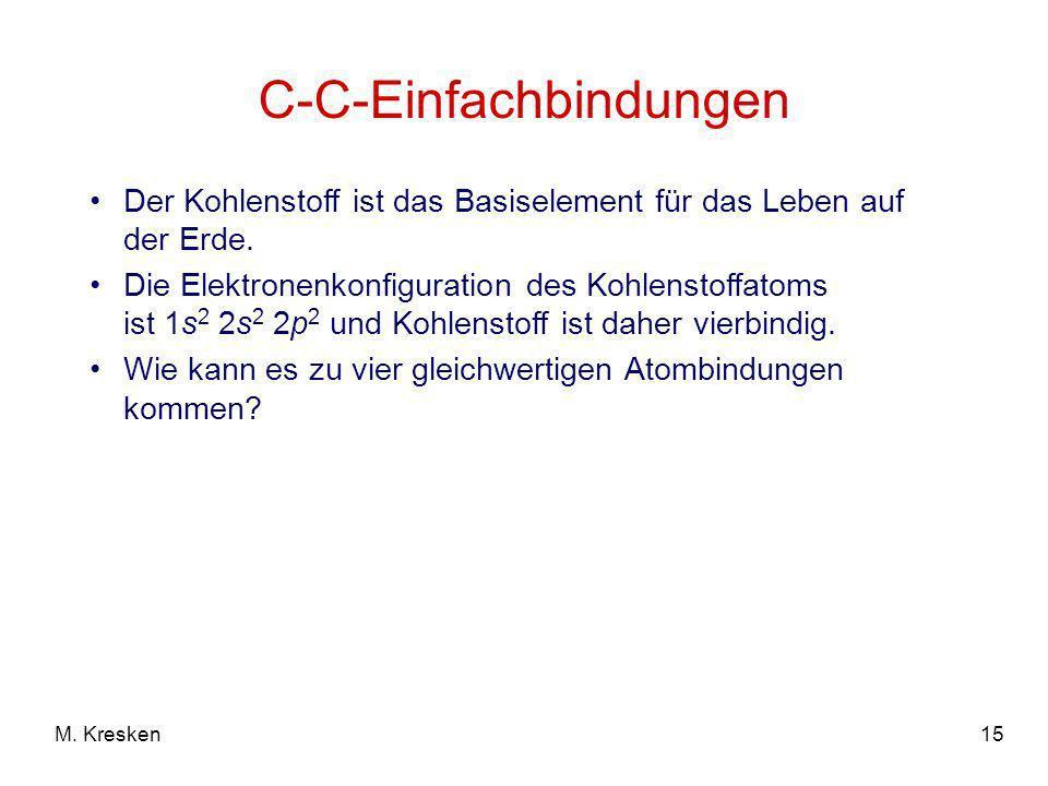 C-C-Einfachbindungen