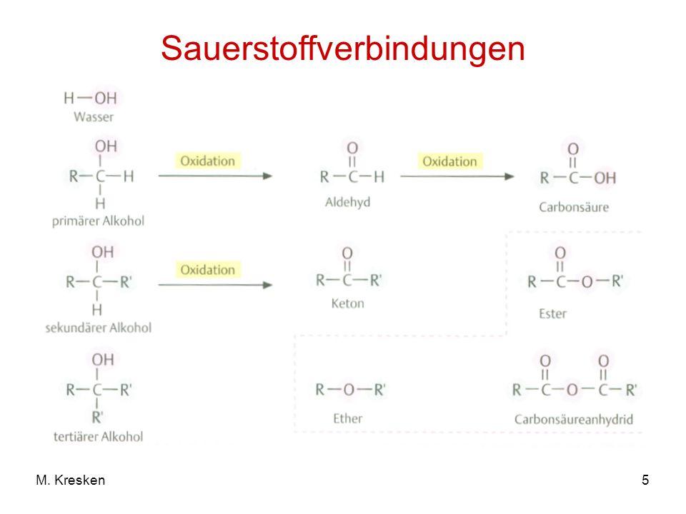 Sauerstoffverbindungen