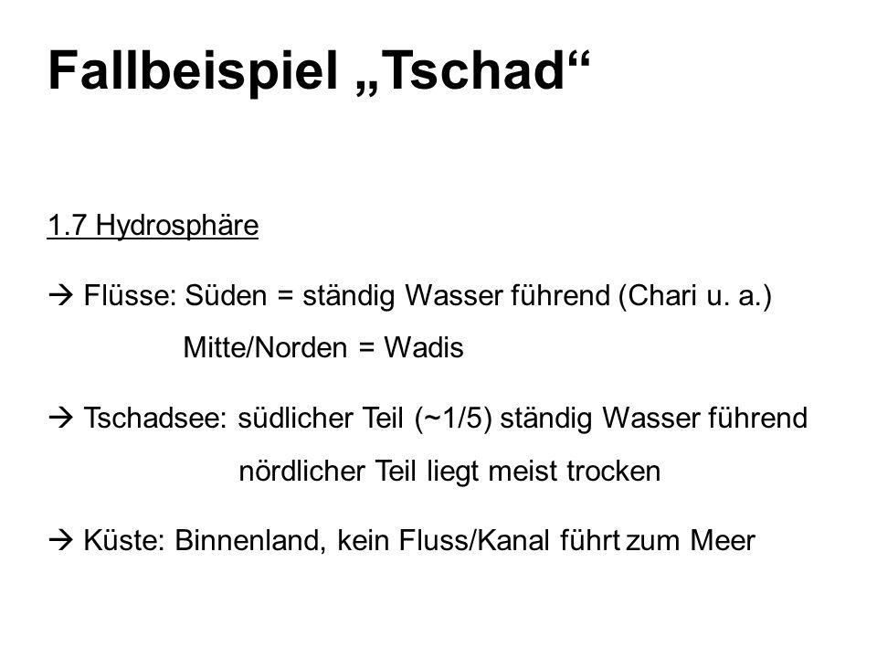 "Fallbeispiel ""Tschad"