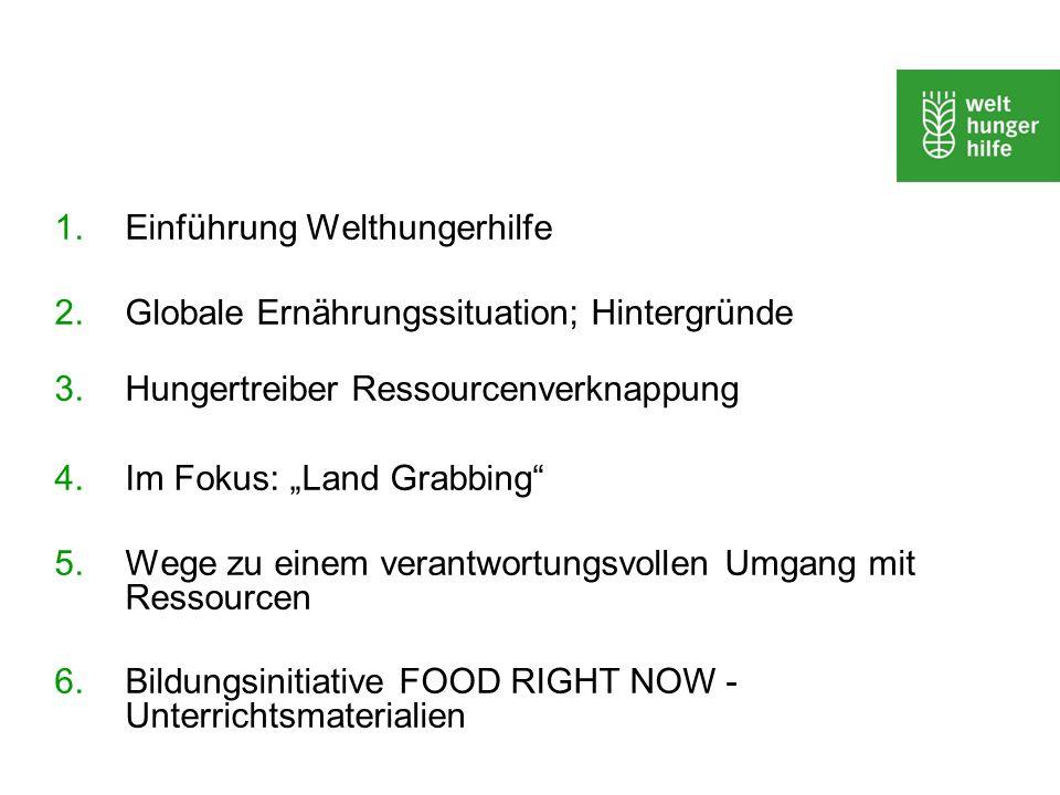 Einführung Welthungerhilfe