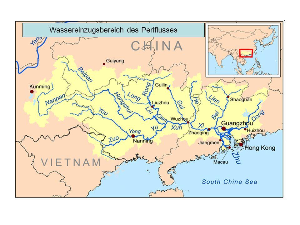 Wassereinzugsbereich des Perlflusses