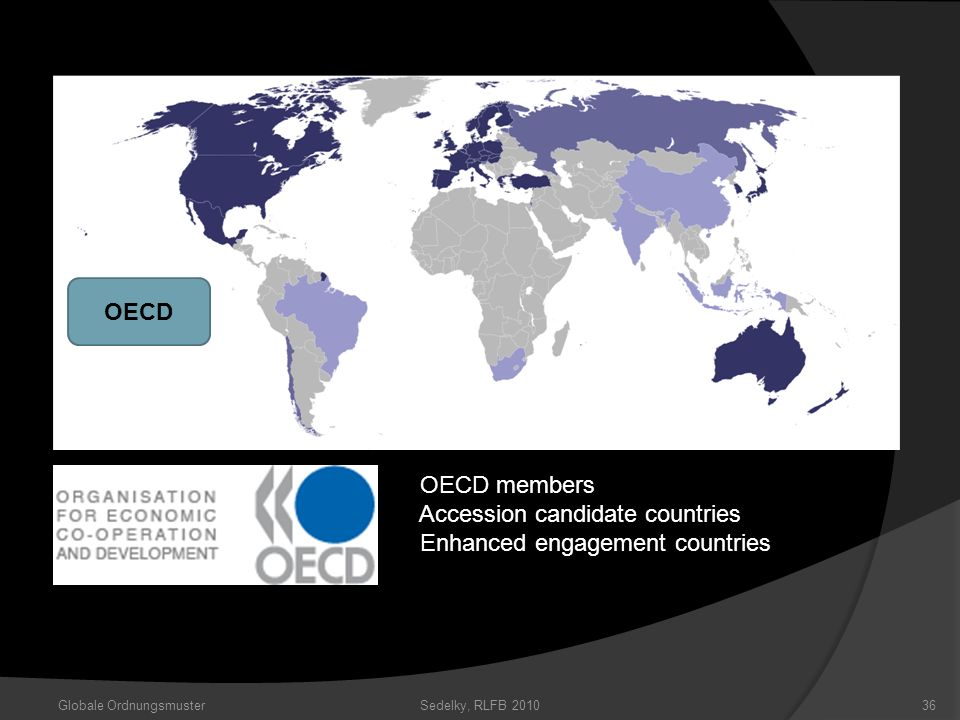 Accession candidate countries Enhanced engagement countries