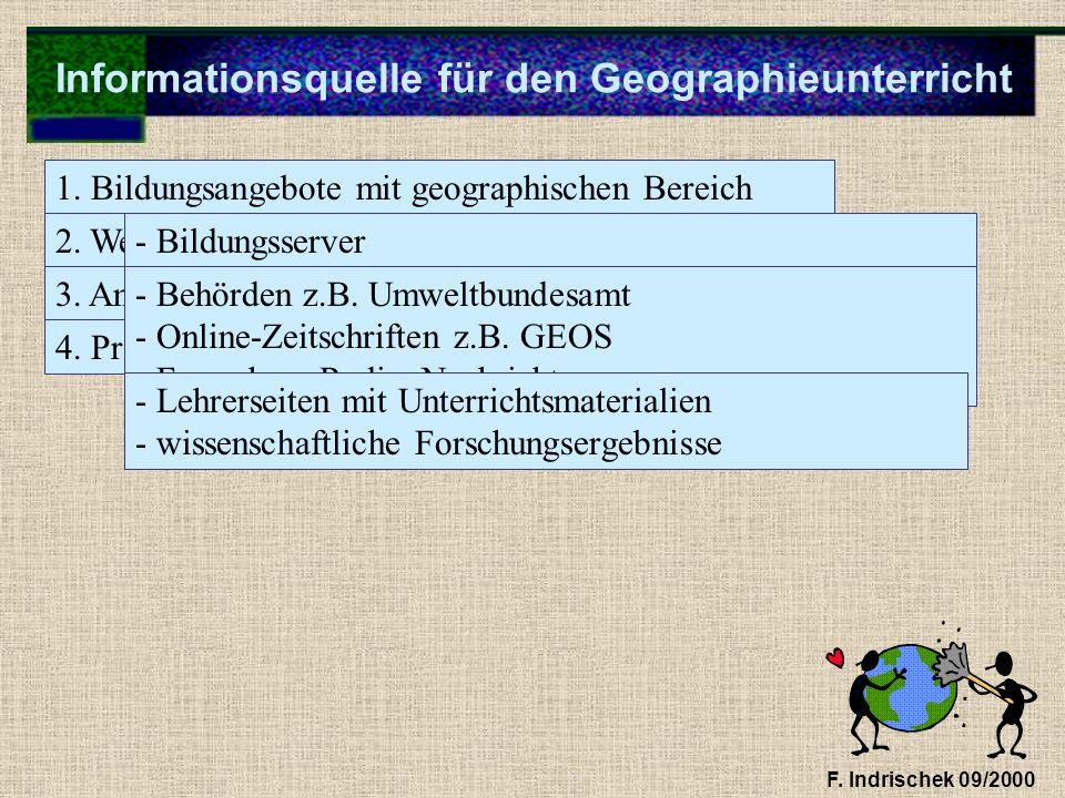 Informationsquelle für den Geographieunterricht