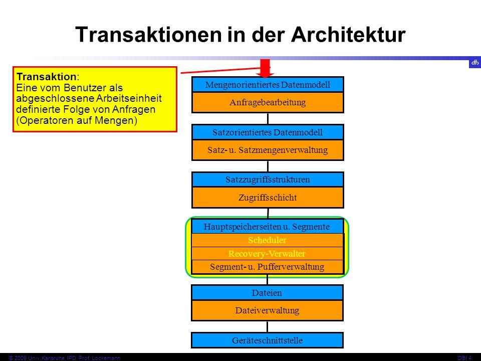 Transaktionen in der Architektur