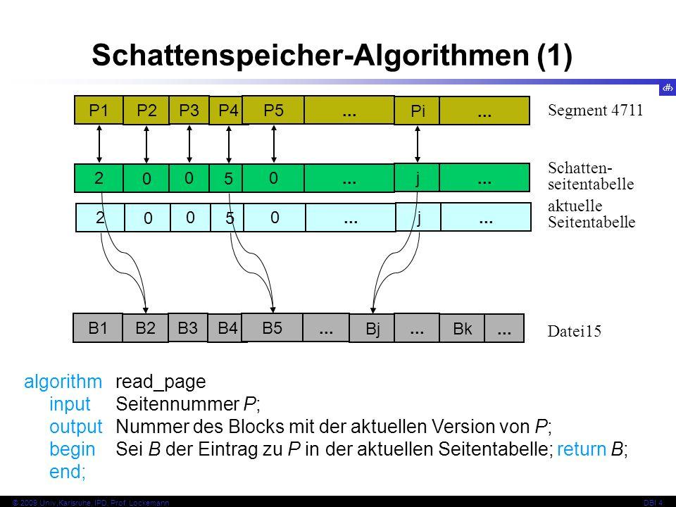Schattenspeicher-Algorithmen (1)