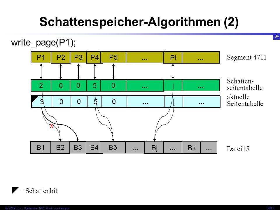 Schattenspeicher-Algorithmen (2)