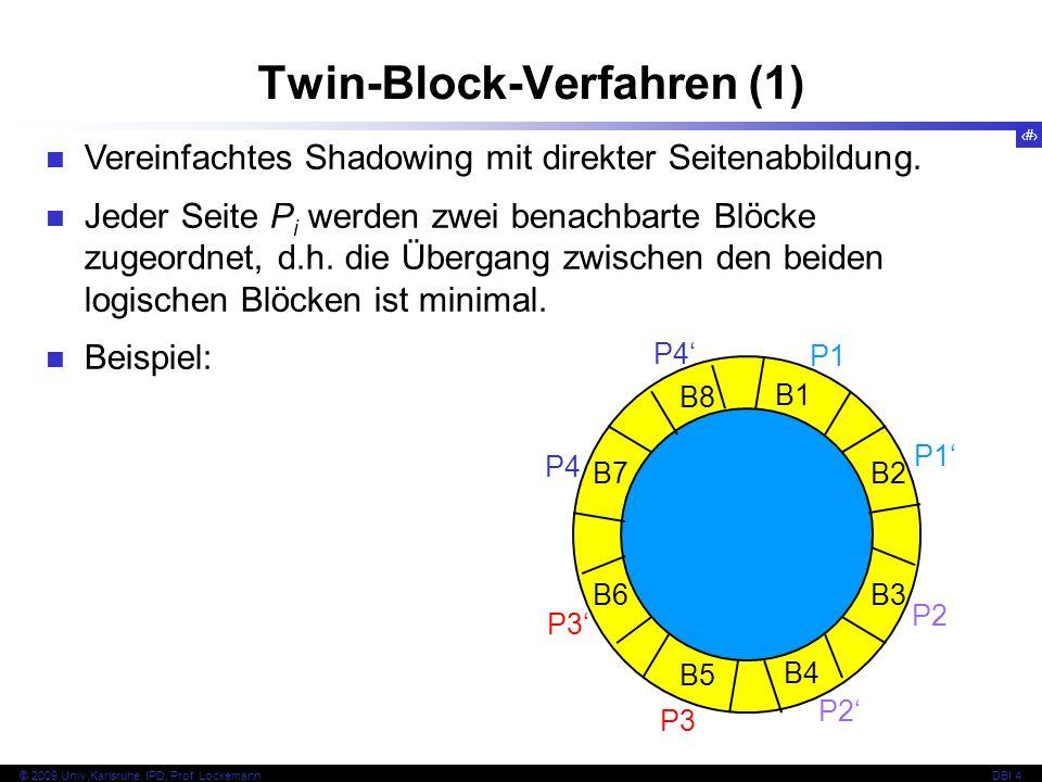 Twin-Block-Verfahren (1)