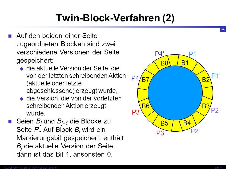 Twin-Block-Verfahren (2)