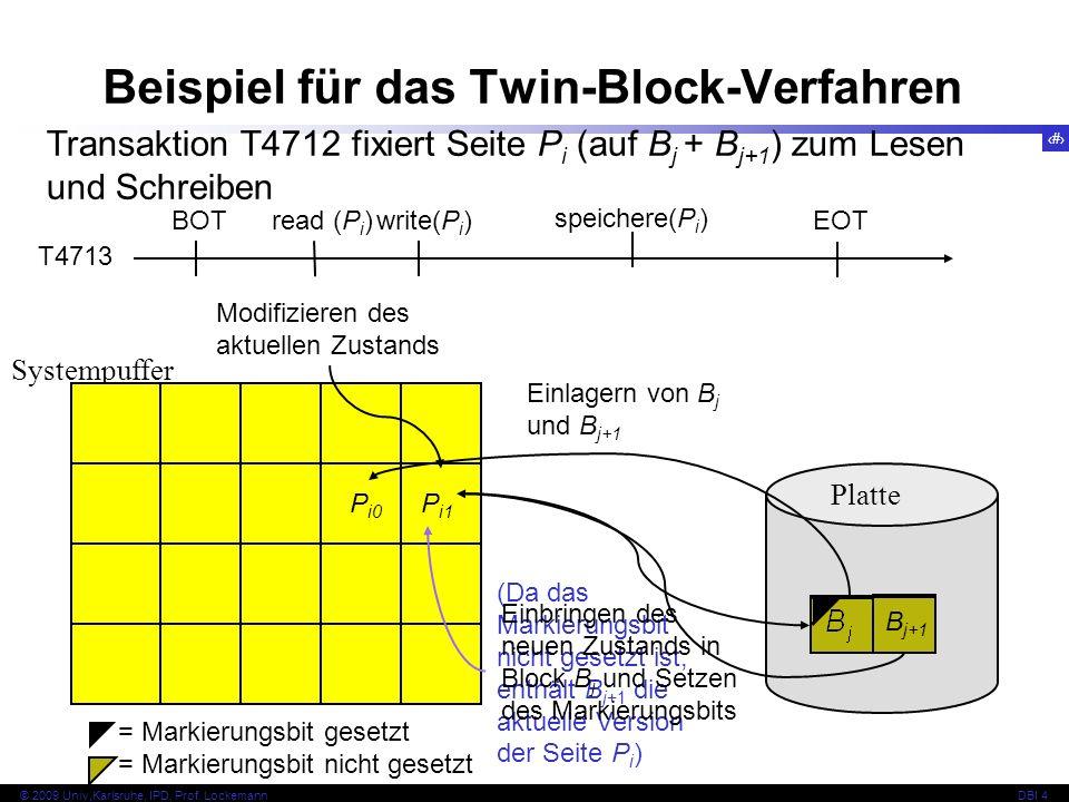 Beispiel für das Twin-Block-Verfahren