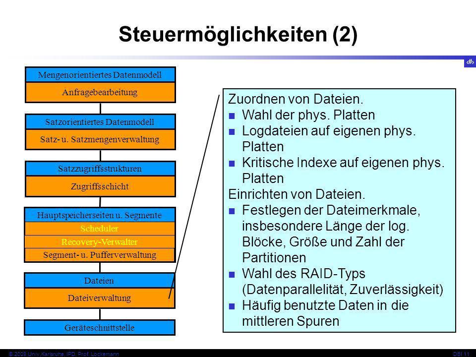 Steuermöglichkeiten (2)