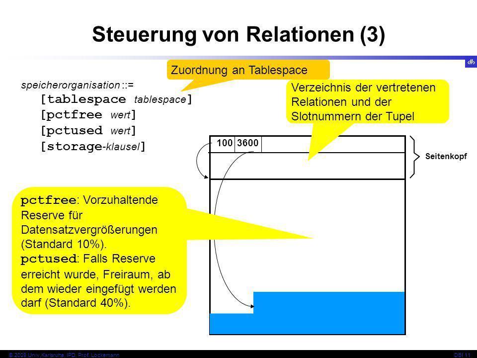 Steuerung von Relationen (3)